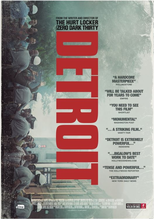 Detroit poster, © 2017 Entertainment One Benelux