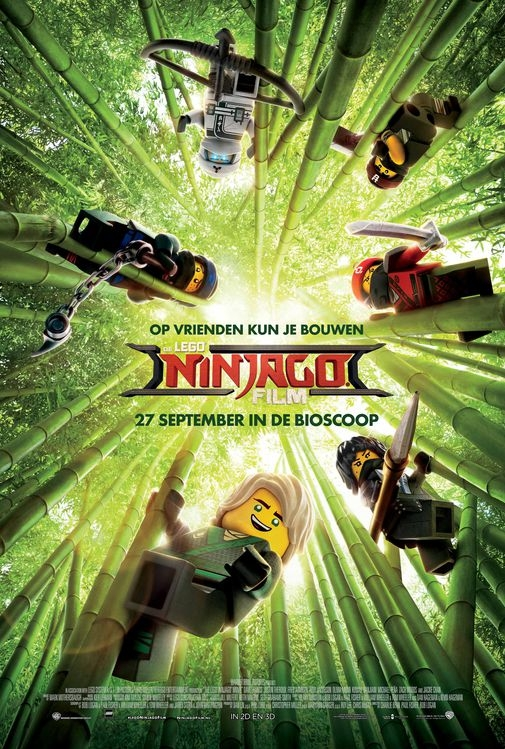 The LEGO NINJAGO Movie poster, © 2017 Warner Bros.