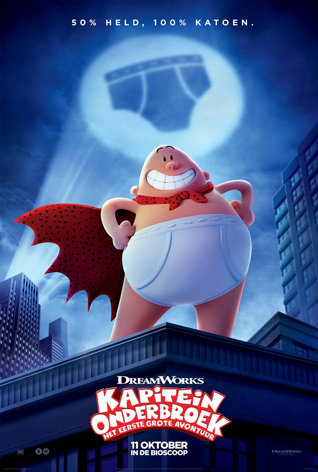 Captain Underpants: The First Epic Movie poster, © 2017 20th Century Fox