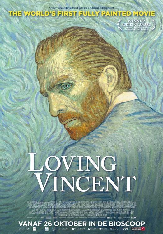 Loving Vincent poster, © 2017 Cinéart