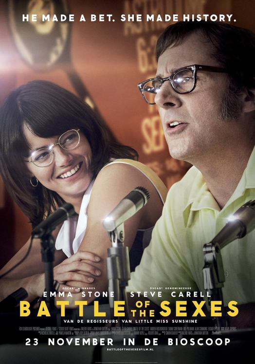 Battle of the Sexes poster, © 2017 20th Century Fox