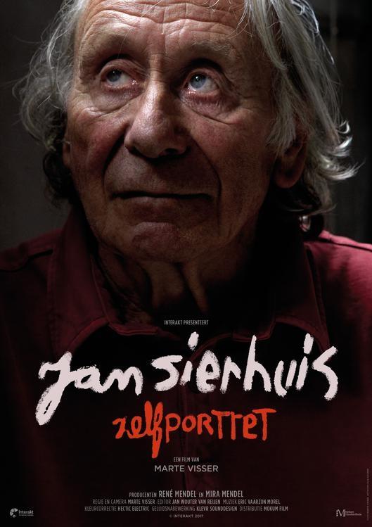 Jan Sierhuis Zelfportret poster, copyright in handen van productiestudio en/of distributeur