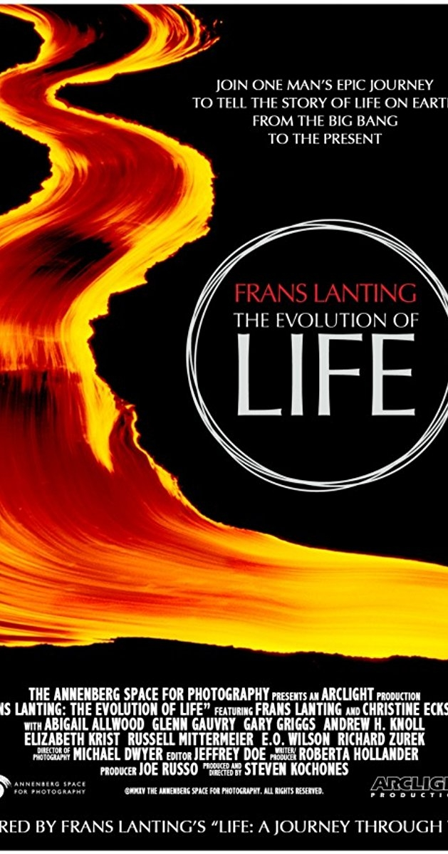 Frans Lanting: The Evolution of Life poster, copyright in handen van productiestudio en/of distributeur