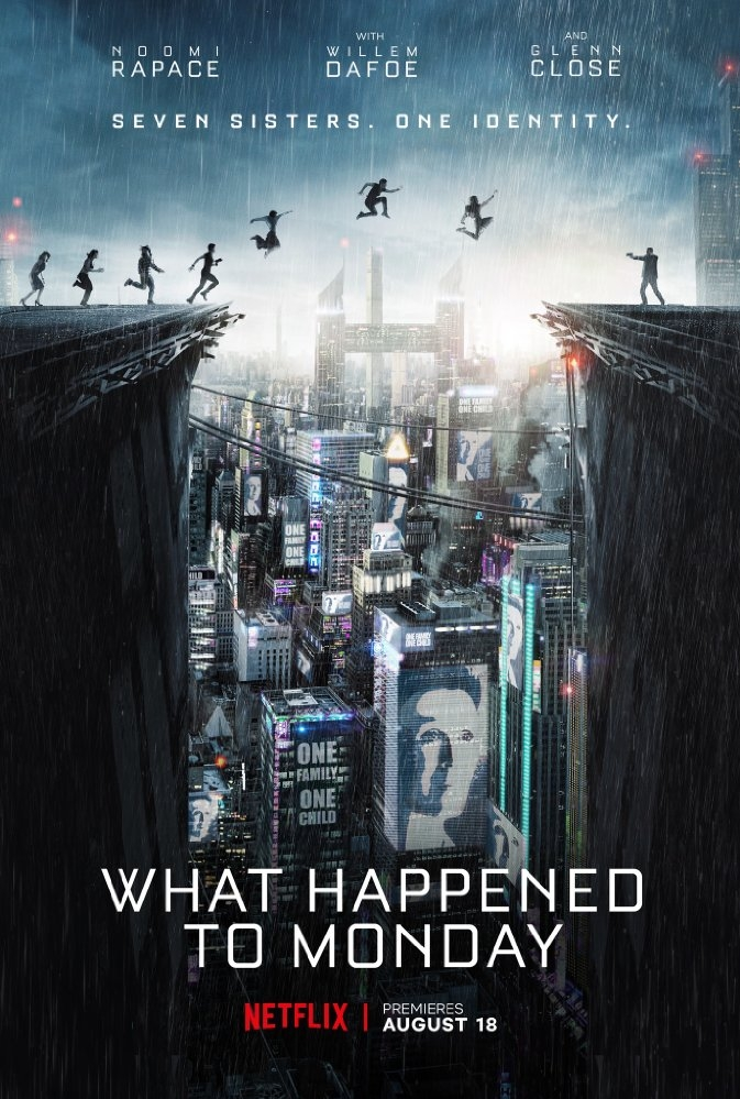 What Happened to Monday? poster, © 2017 Splendid Film