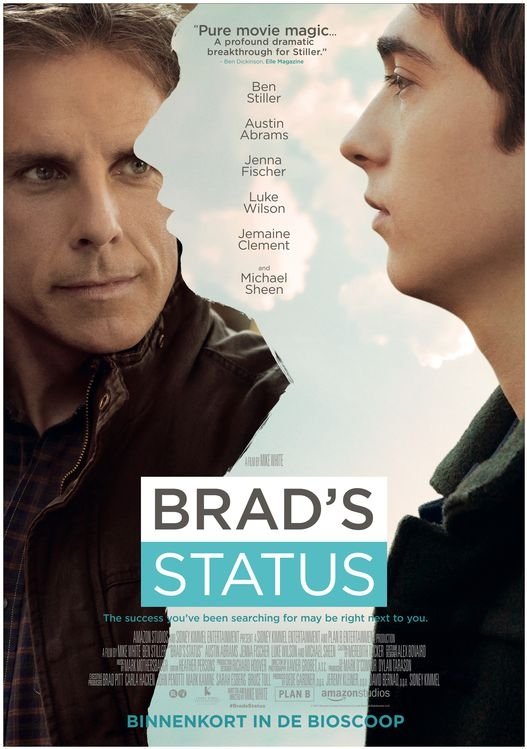 Brad's Status poster, © 2017 The Searchers