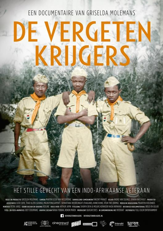 De vergeten krijgers poster, © 2017 Full Colour Entertainment