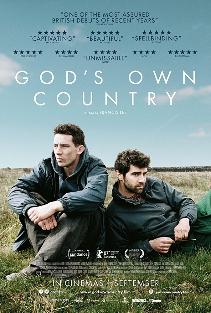 God's Own Country poster, copyright in handen van productiestudio en/of distributeur