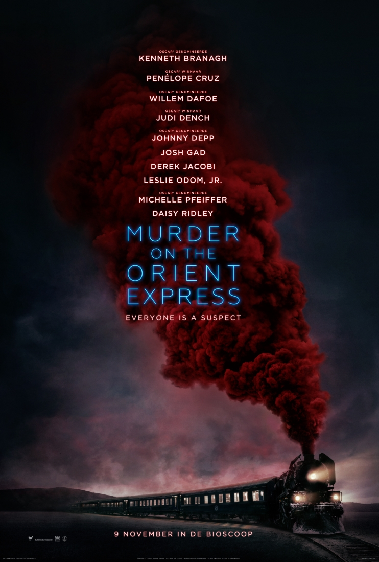 Murder on the Orient Express poster, © 2017 20th Century Fox