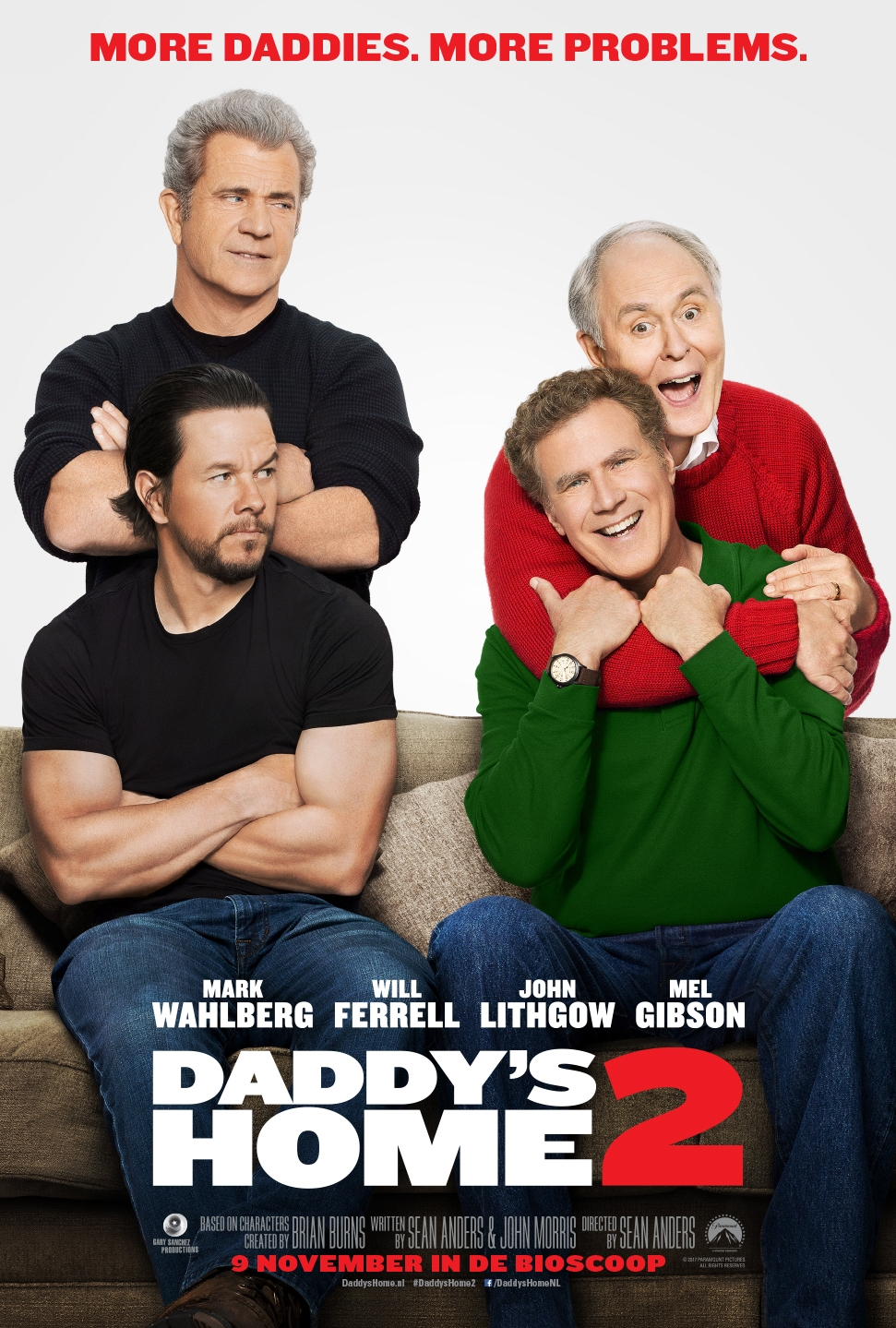 Daddy's Home 2 poster, © 2017 Universal Pictures International
