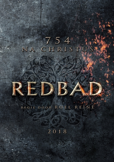 Redbad 754 A.D. poster, copyright in handen van productiestudio en/of distributeur
