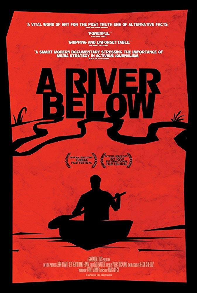 A River Below poster, copyright in handen van productiestudio en/of distributeur