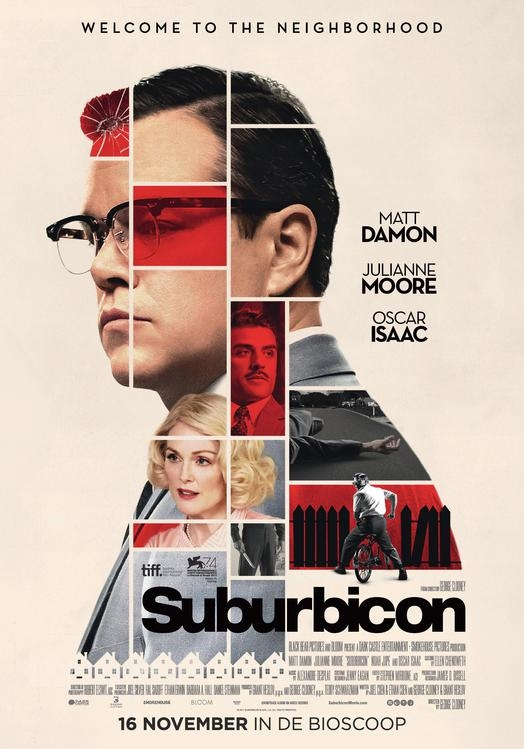 Suburbicon poster, © 2017 The Searchers