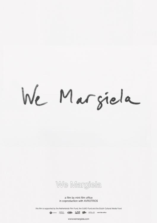 We Margiela poster, copyright in handen van productiestudio en/of distributeur