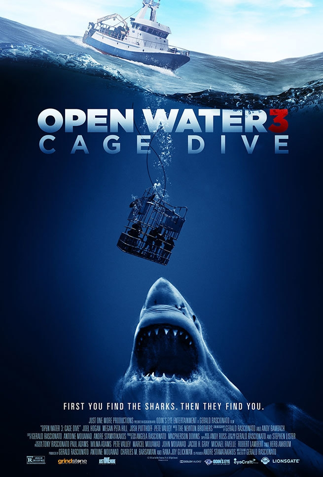 Cage Dive poster, copyright in handen van productiestudio en/of distributeur