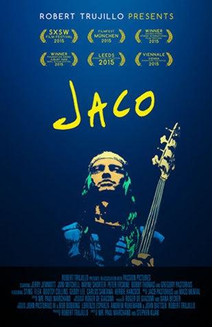 Jaco poster, copyright in handen van productiestudio en/of distributeur