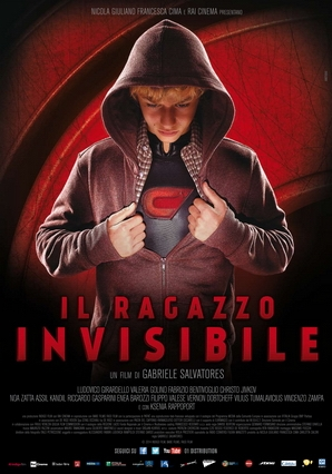 The Invisible Boy poster, copyright in handen van productiestudio en/of distributeur