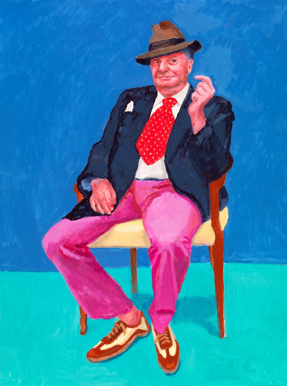 EOS: David Hockney at the Royal Academy of Arts poster, copyright in handen van productiestudio en/of distributeur