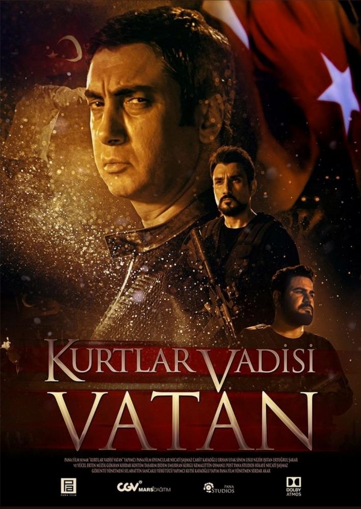Kurtlar Vadisi: Vatan poster, copyright in handen van productiestudio en/of distributeur