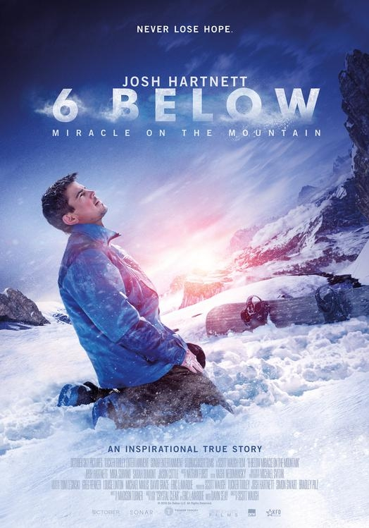 6 Below: Miracle on the Mountain poster, © 2017 Dutch FilmWorks