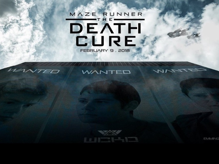 Maze Runner: The Death Cure poster, © 2018 20th Century Fox