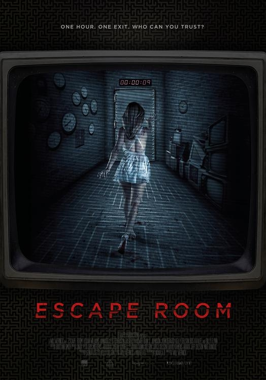 Escape Room poster, © 2017 Dutch FilmWorks