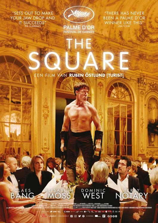 The Square poster, © 2017 Cinemien