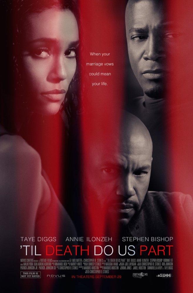 Til Death Do Us Part poster, copyright in handen van productiestudio en/of distributeur