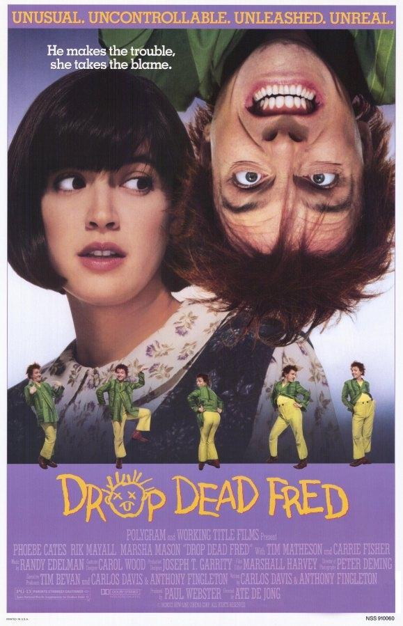 Drop Dead Fred poster, copyright in handen van productiestudio en/of distributeur