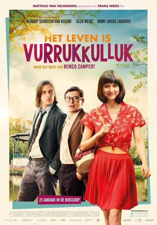 Het Leven Is Vurrukkulluk poster, © 2018 Just Film Distribution