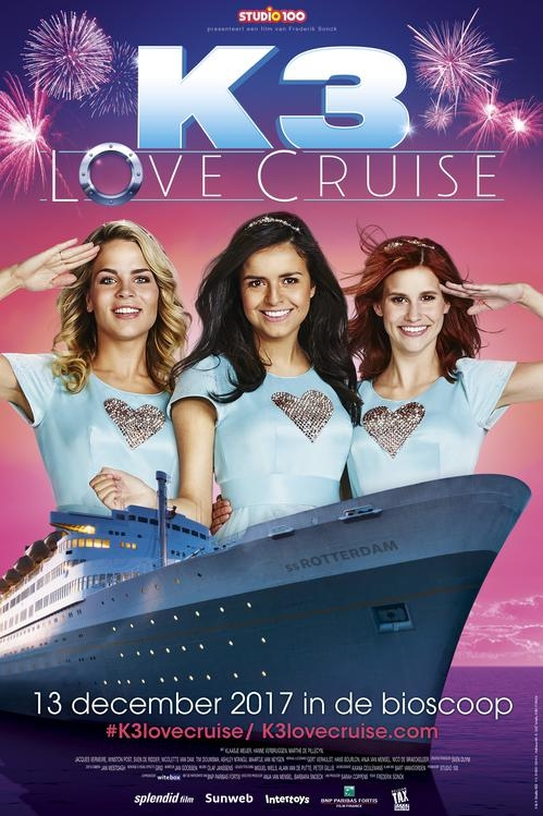 K3 Love Cruise poster, © 2017 Splendid Film