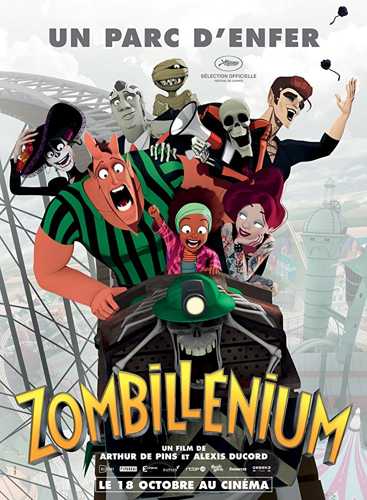 Zombillenium poster, copyright in handen van productiestudio en/of distributeur
