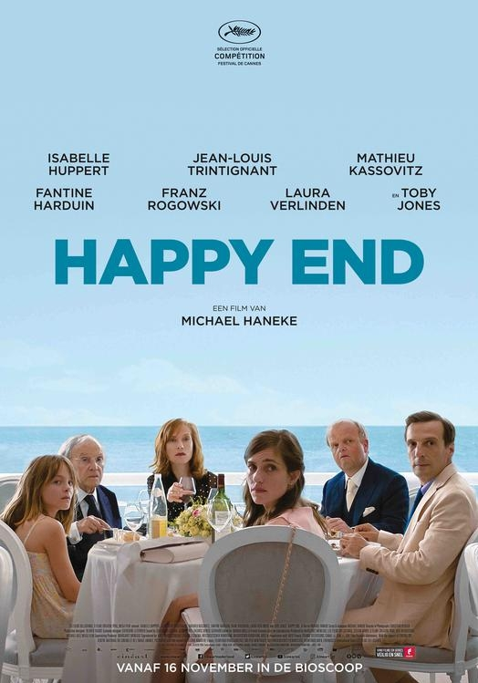 Happy End poster, © 2017 Cinéart