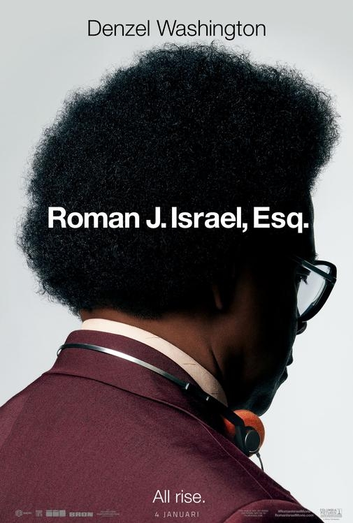 Roman Israel, Esq. poster, © 2017 Universal Pictures International