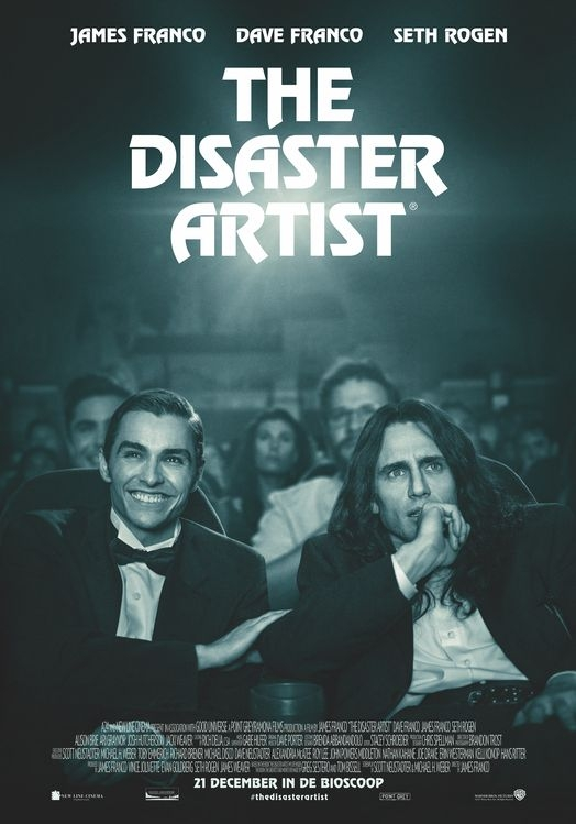 The Disaster Artist poster, © 2017 Warner Bros.