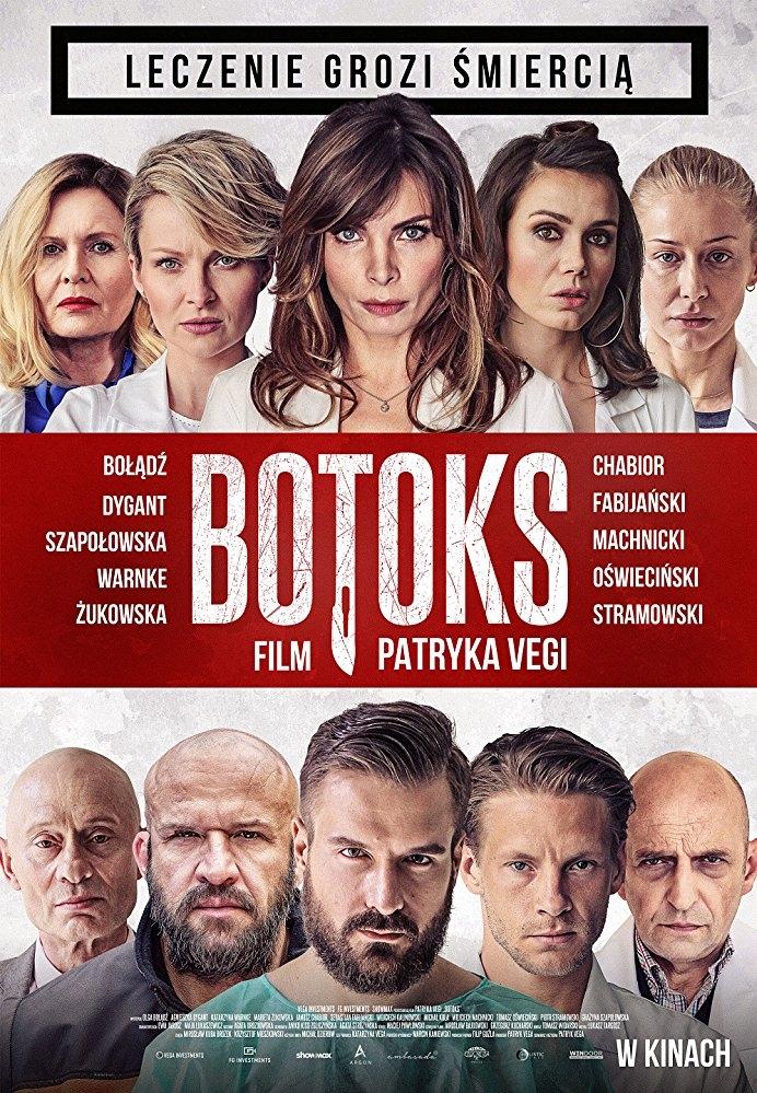 Botoks poster, copyright in handen van productiestudio en/of distributeur