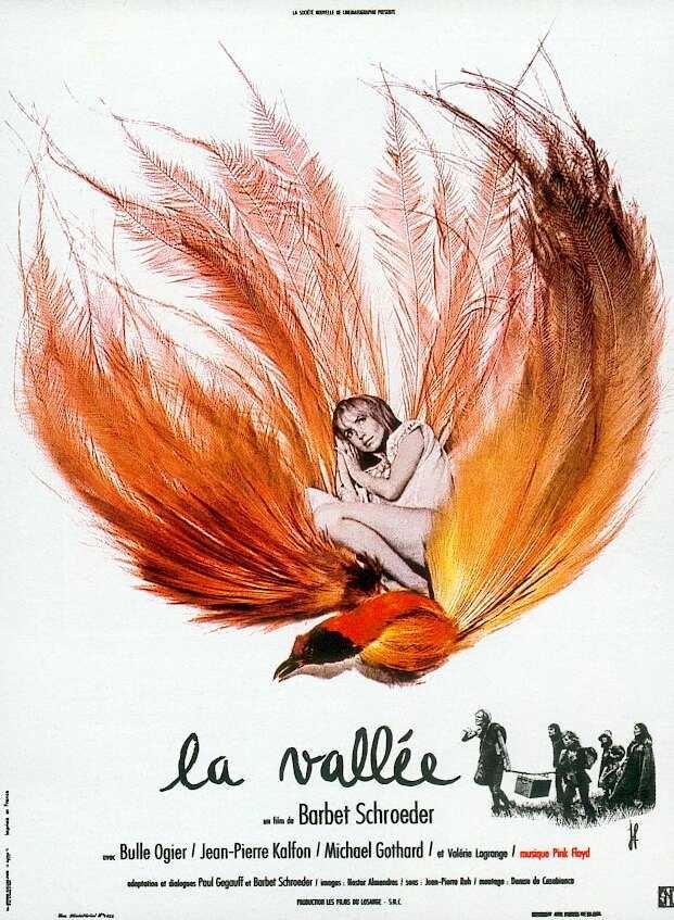 La vallée poster, copyright in handen van productiestudio en/of distributeur