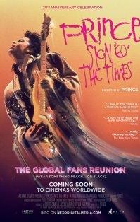 Sign 'o' the Times poster, copyright in handen van productiestudio en/of distributeur