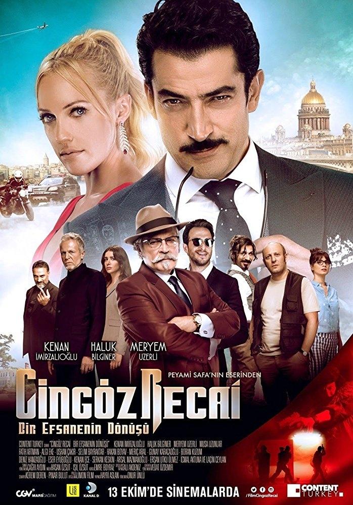 Cingöz Recai poster, copyright in handen van productiestudio en/of distributeur