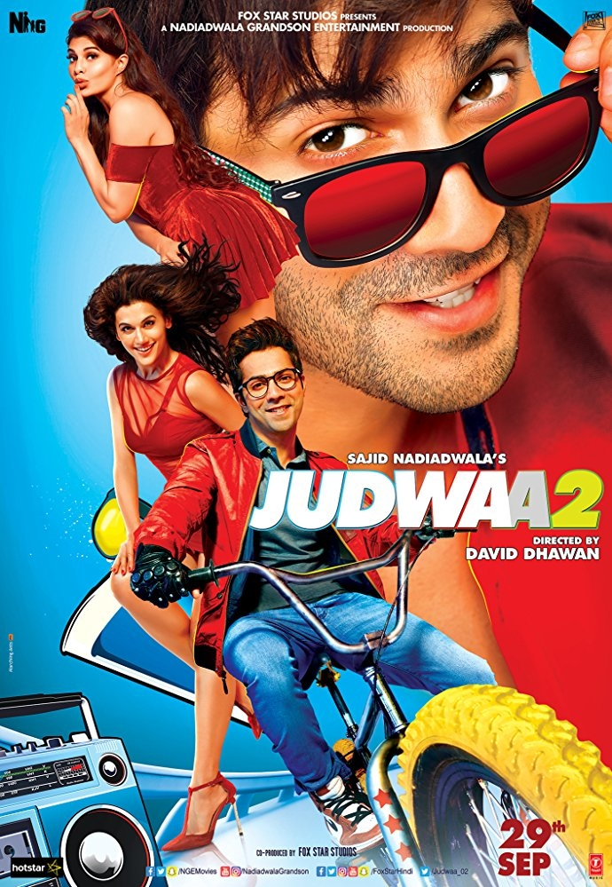 Judwaa 2 poster, copyright in handen van productiestudio en/of distributeur