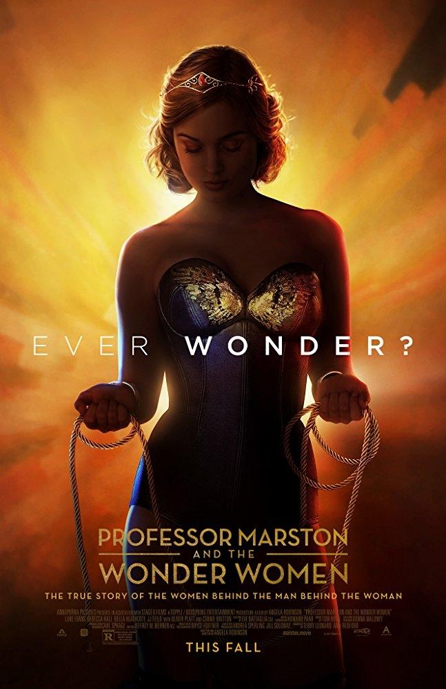 Professor Marston and the Wonder Women poster, copyright in handen van productiestudio en/of distributeur