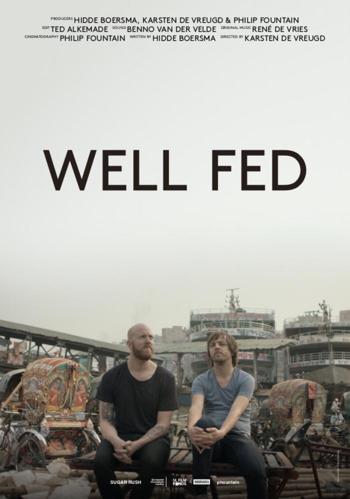 Well Fed poster, copyright in handen van productiestudio en/of distributeur