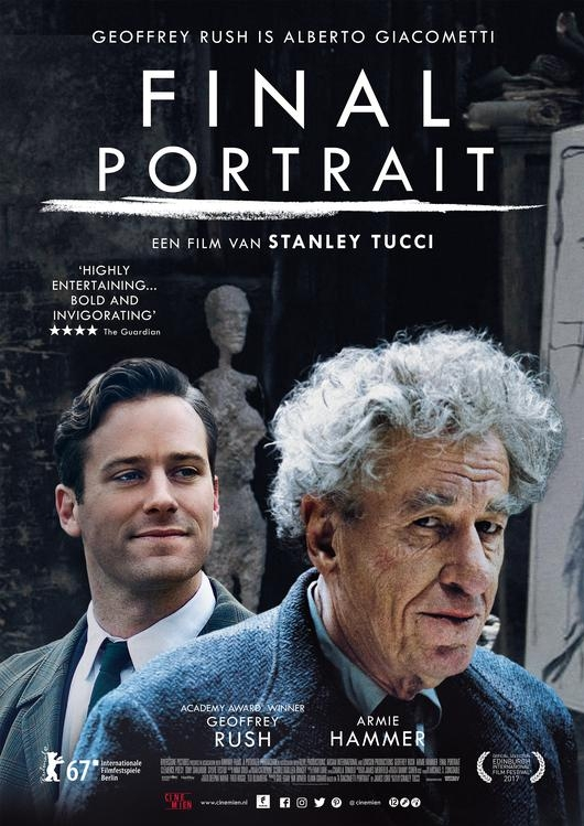 Final Portrait poster, copyright in handen van productiestudio en/of distributeur