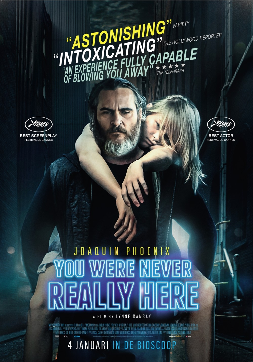 You Were Never Really Here poster, © 2017 The Searchers
