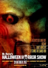 Halloween Horror Show 2017 poster, copyright in handen van productiestudio en/of distributeur