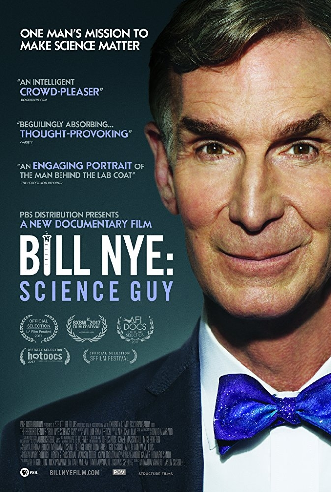 Bill Nye: Science Guy poster, copyright in handen van productiestudio en/of distributeur