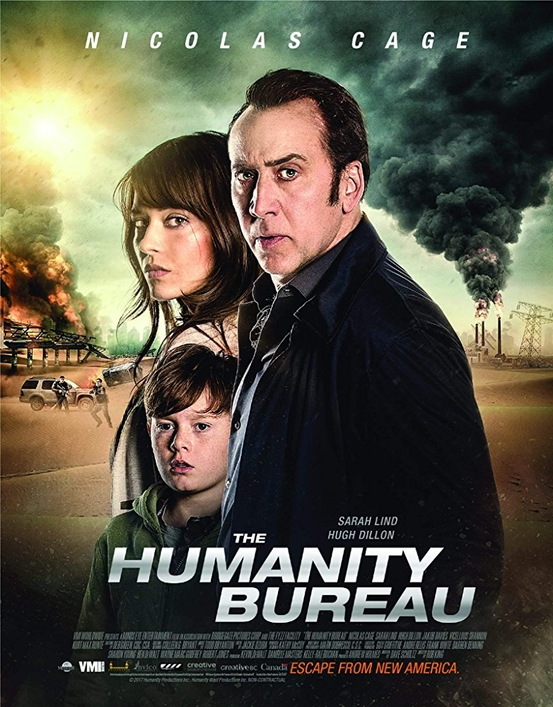 The Humanity Bureau poster, copyright in handen van productiestudio en/of distributeur