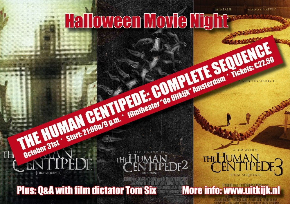 The Human Centipede: Complete Sequence poster, copyright in handen van productiestudio en/of distributeur