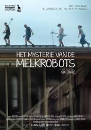 Het mysterie van de melkrobots poster, copyright in handen van productiestudio en/of distributeur