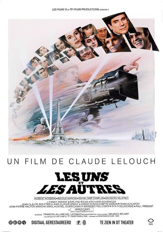 Les Uns et les autres poster, © 1981 Eye Film Instituut