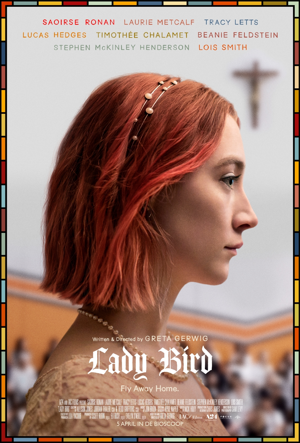 Lady Bird poster, © 2017 Universal Pictures International